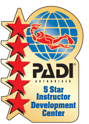PADI 5 Star Instructor Development