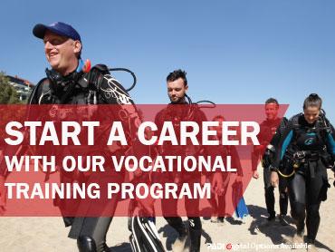 The Dive Shop Vocational Training Program